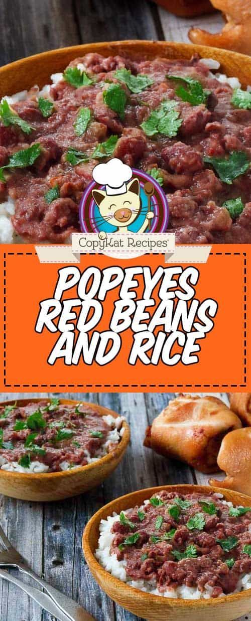 Popeyes Red Beans and Rice