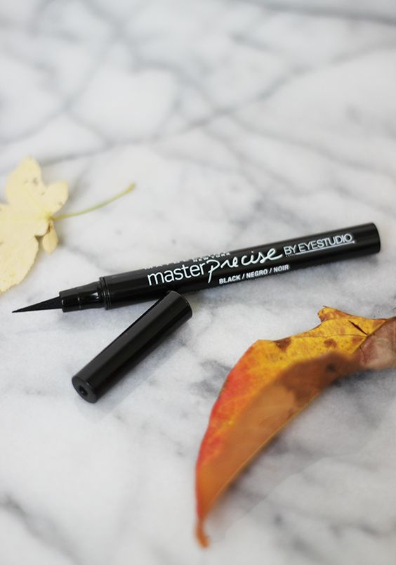 Maybelline Master Precise Eyeliner || 5 Must-Have Drugstore Beauty Buys this Fall #theeverygirl