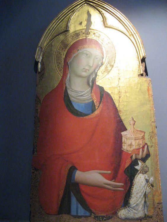 Simone Martini, Mary Magdalene, Museo dell'Opera del Duomo, Orvieto