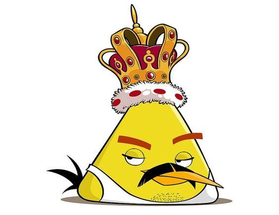 Freddie Mercury- Angry Birds Version