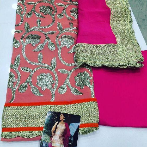 Bridal wear collection  Designer wear  3800 rs  Mail us at womensworld14@gmail.com or whatsapp us on 9930136581 to place an order  www.womensworld.ws  Women's world boutique - Mumbai  #freeshipping #sale #worldwide #punjabi #designer #indian #dresses #bridal #lehenga #womensworldboutique #gown #made-to-measure #made-to-order
