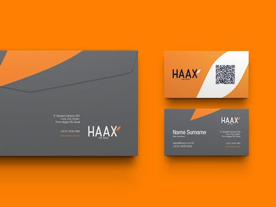 HAAX Web and Mobile / Branding