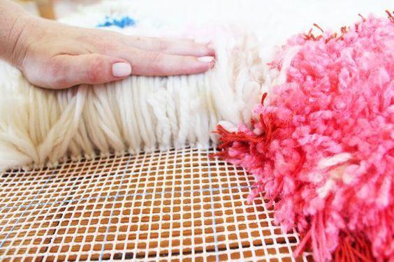 Handmade Yarn Shag Rugs Rugs Homemade Rugs Rug Yarn
