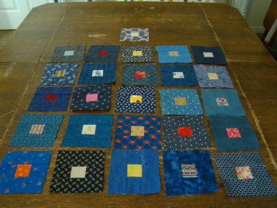 Blue Quilt Blocks: