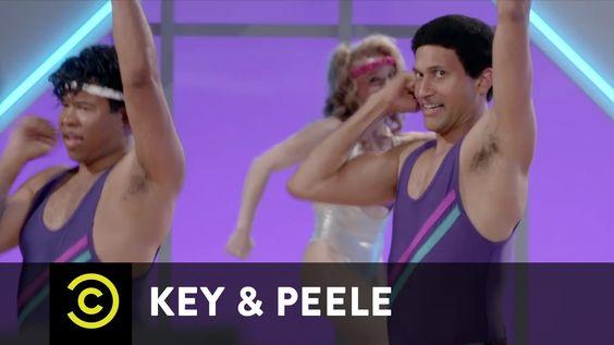 Uncensored - Key & Peele - Aerobics Meltdown
