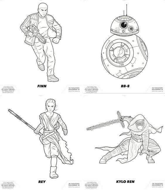 The Force Awakens Star Wars Free Coloring Pages For Your Little Jedi Mommy Mafia Star Wars Colors Free Coloring Pages Coloring Pages