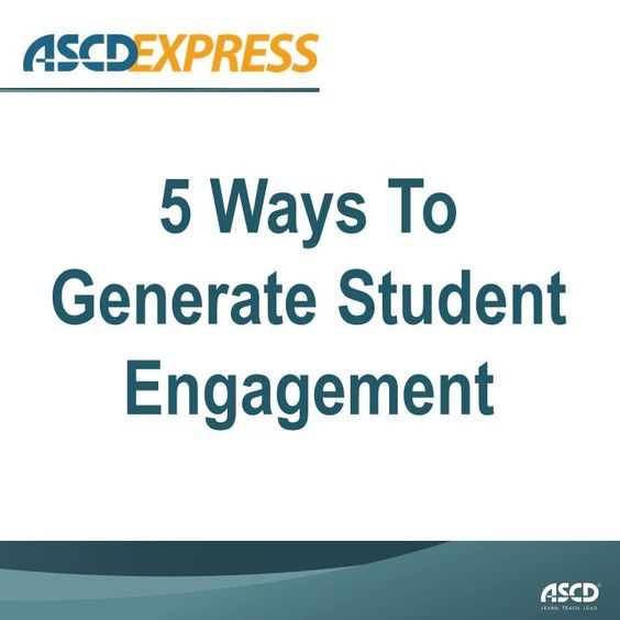 In this ASCD Express article, English teacher JoAnn Gage discusses asserts that knowledge cannot be beaten into students. Instead, teachers should be using engagement as a tool to reach students.