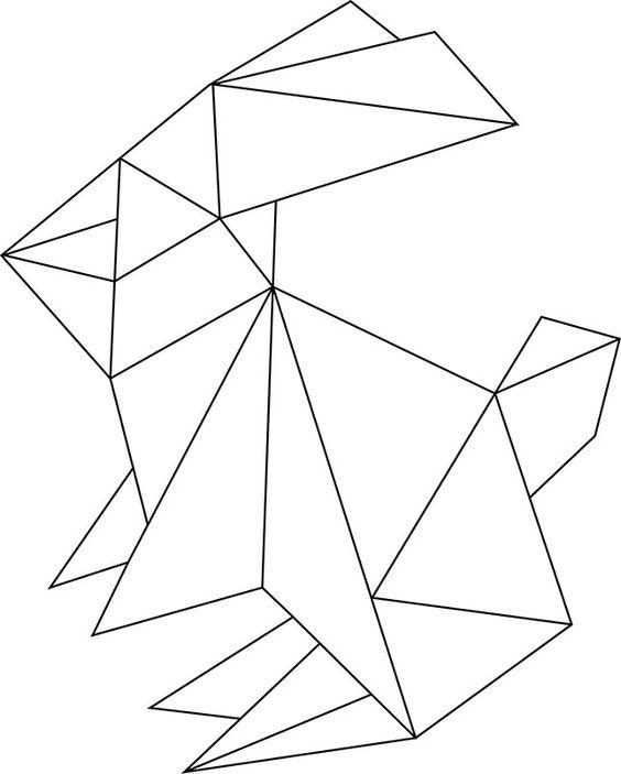 "origami-hase-vorlage.jpg __ / Oster-DIY ""Oster bloggerEI"". //Húsvét//"