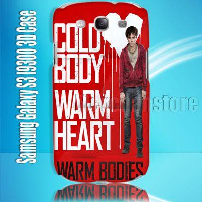 Cold Body Warm Bodies Samsung Galaxy S3 I9300 3D Case