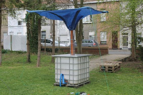 Picture of STAND-ALONE RAINWATER COLLECTOR: