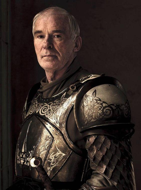 Ian McElhinney as Ser Barristan Selmy aka 'Barristan The Bold' (Joffrey replaces Ser Barristan Selmy as Lord Commander of the Kingsguard