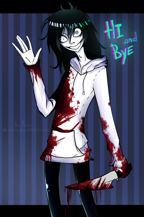 Hi and DIE!!! I mean... Bye by De-Haro on deviantART
