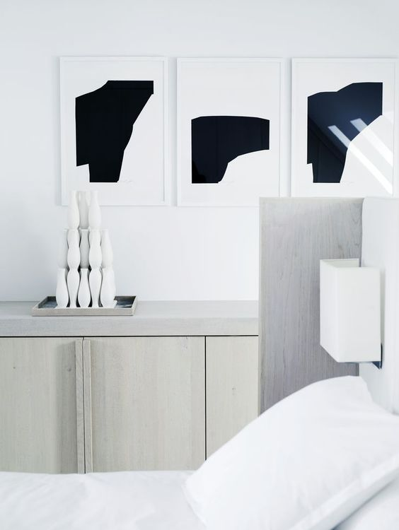 Piet Boon Styling by Karin Meyn | Black and White prints in a quiet room