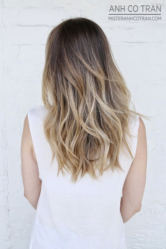 LA: A FLOWING SUMMER CUT. Cut/Style: Anh Co Tran. Appointment inquiries please call Ramirez|Tran Salon in Beverly Hills: 310.724.8167