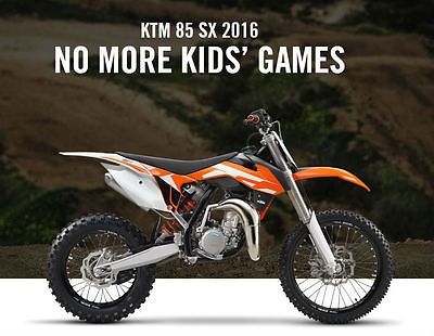 2016 KTM 85 SX Motocross in Cars, Motorcycles & Vehicles, Motorcycles & Scooters, KTM   eBay