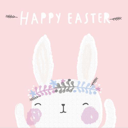 Un hermosísimo conejo de pascua <3: