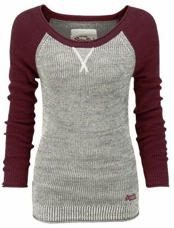 thermal baseball sweater shirt. Love this!