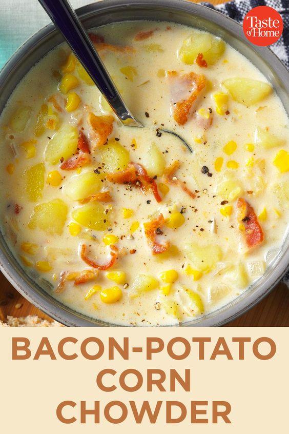Bacon-Potato Corn Chowder