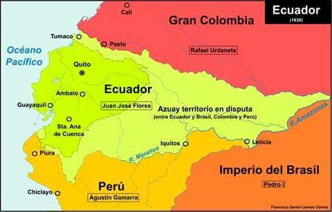 Ecuador 1 830 Mapa