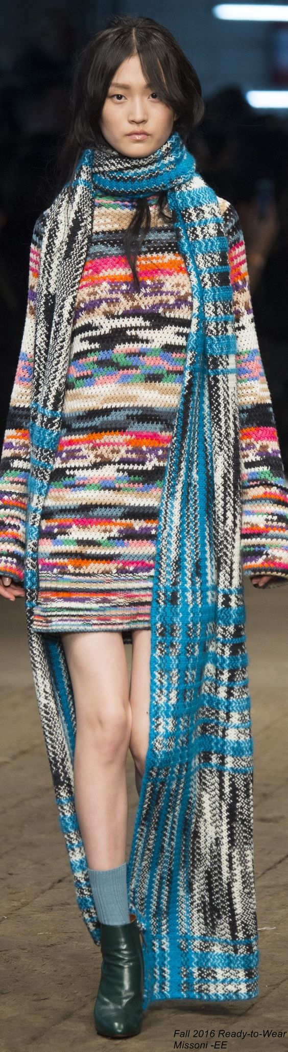 Fall 2016 Ready-to-Wear Missoni: