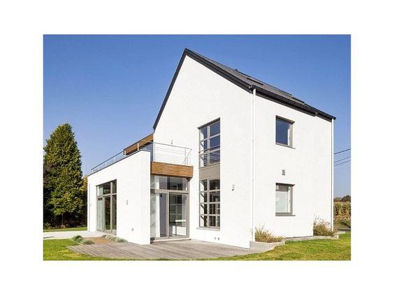 Façade • plâtre • maison moderne • www.sto.be # livios.be