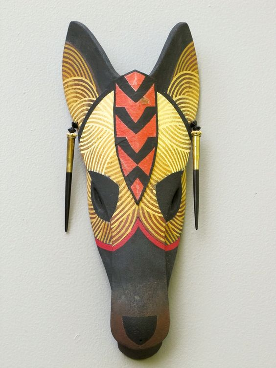 Traditional African Animal Masks