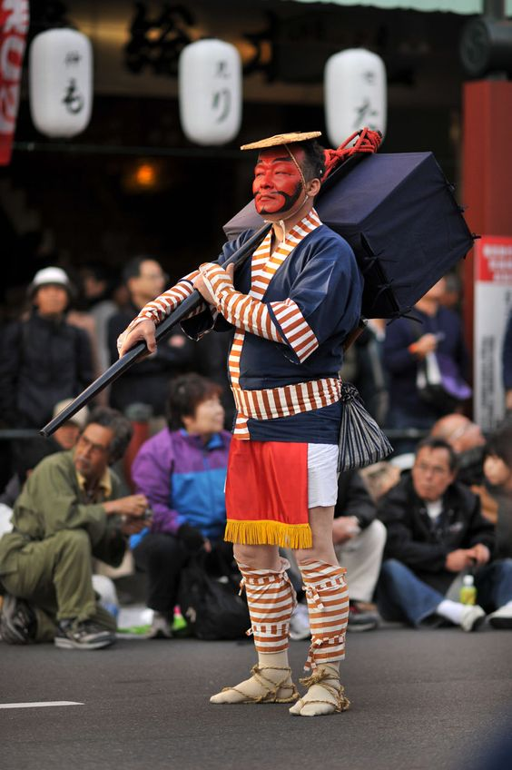 Actor in Tokyo Jidai matsuri procession
