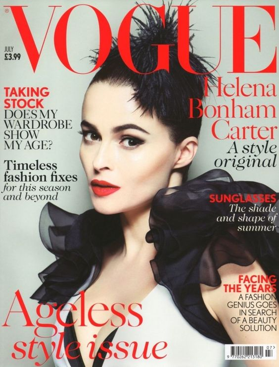 Vogue UK Julho 2013   Helena Bonham Carter por Mert Alas e Marcus Piggott  Highlight Description Vogue UK Julho 2013   Helena Bonham Carter por Mert Alas e Marcus Piggott