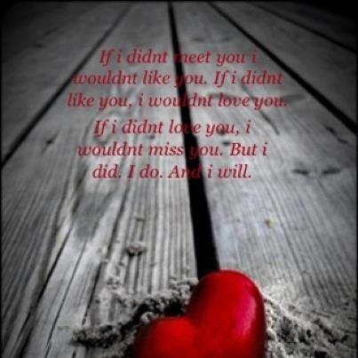 Não se faz isso a um coração que ama.