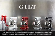 Gilt ~ Flash Sale   Up to 80% off KitchenAid and Cuisinart!! {today only}!