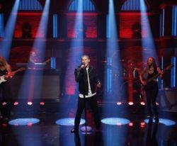 """Nick Jonas apresenta """"Levels"""" em talk show #Lançamento, #Música, #Nick, #Novo, #NovoSingle, #Programa, #Show, #Single http://popzone.tv/nick-jonas-apresenta-levels-em-talk-show/"""