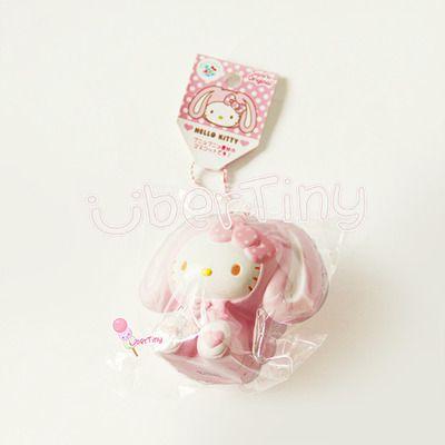 Rare Kawaii Squishy Websites : Super rare jumbo hello kitty in a bunny costume squishy - licensed sanrio squishy Pinterest ...