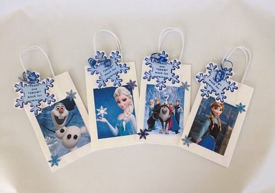 Frozen goody bag Birthday party bags party favor by bigpartypalace