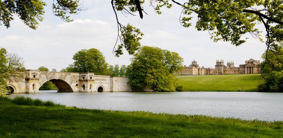So British ! Winston Churchil est né à Blenheim Palace, dont le parc a été conçu…