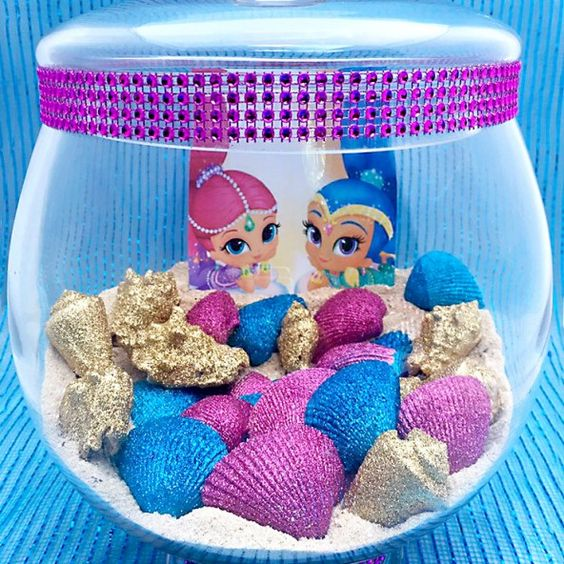 Jars beaches and beach jar on pinterest for Shimmer and shine craft ideas