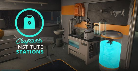 AS Craftable Institute Stations at Fallout 4 Nexus - Mods and community