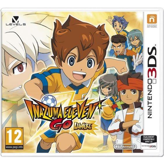 #noel 2014 Acheter Jeu 3DS Nintendo Inazuma Eleven Go Lumiere 37,50 € livré le moins cher