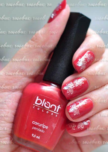 esmalte Blant coruripe + nail art