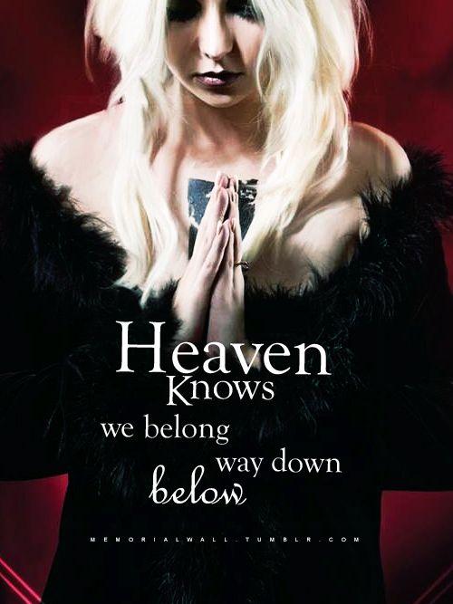 The Pretty Reckless | ... Taylor Momsen Lyrics