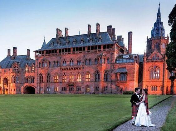 Mount Stuart, Scotland   24 Breathtaking British Wedding Venues