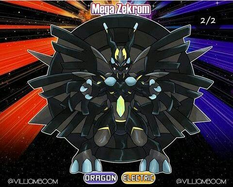 31++ Mega zekrom information