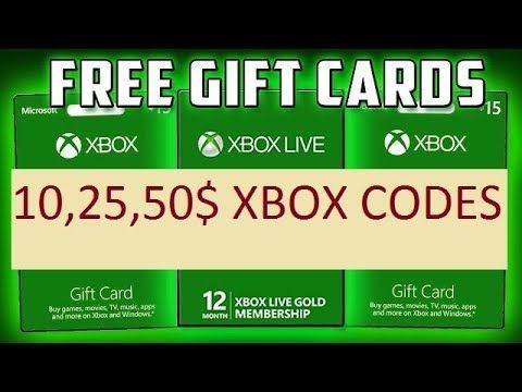 Free Xbox Gift Card Codes Generator Xbox Gift Card Xbox Gift
