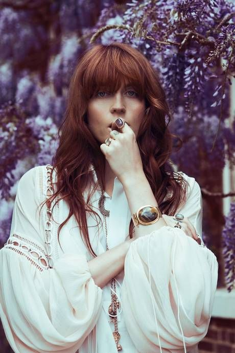 """I was going to call the record something a bit more desperate and angry about the things that are out of reach — but then I changed my mind, because over everything, over all the turmoil and the chaos that was going on, there was this big, beautiful hope which I think was what the album represented to me."" Florence Welch"