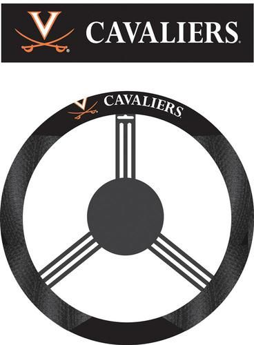 Chicago Bears Black Vinyl Massage Grip Steering Wheel Cover