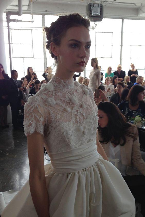 Marchesa - New York Bridal Market - Spring 2015 PRETTY & Vintage