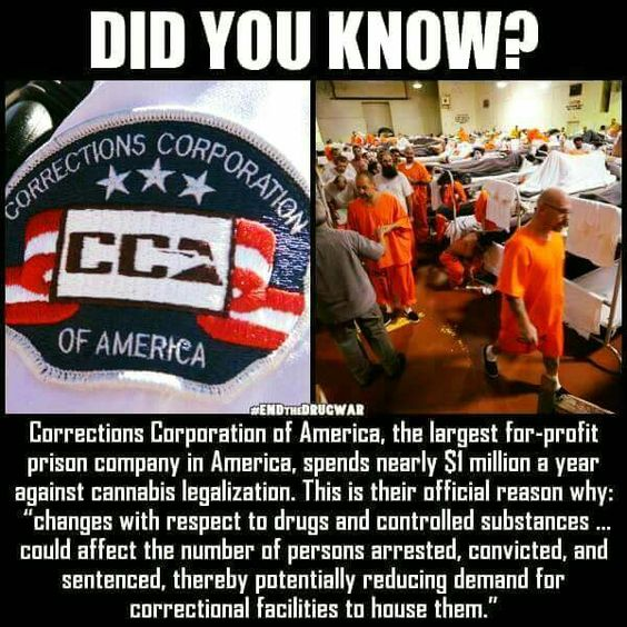 This has got to stop. No more private prisons