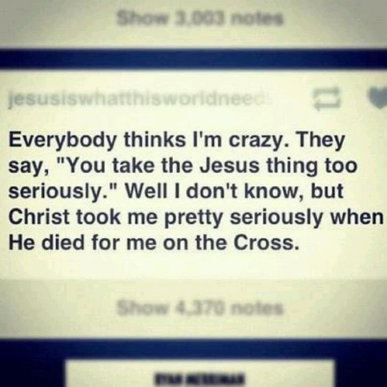 Undeserving as I am, He died for me.