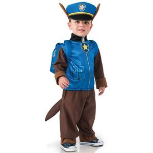 Déguisement luxe chase paw patrol - taille s 3-4 ans