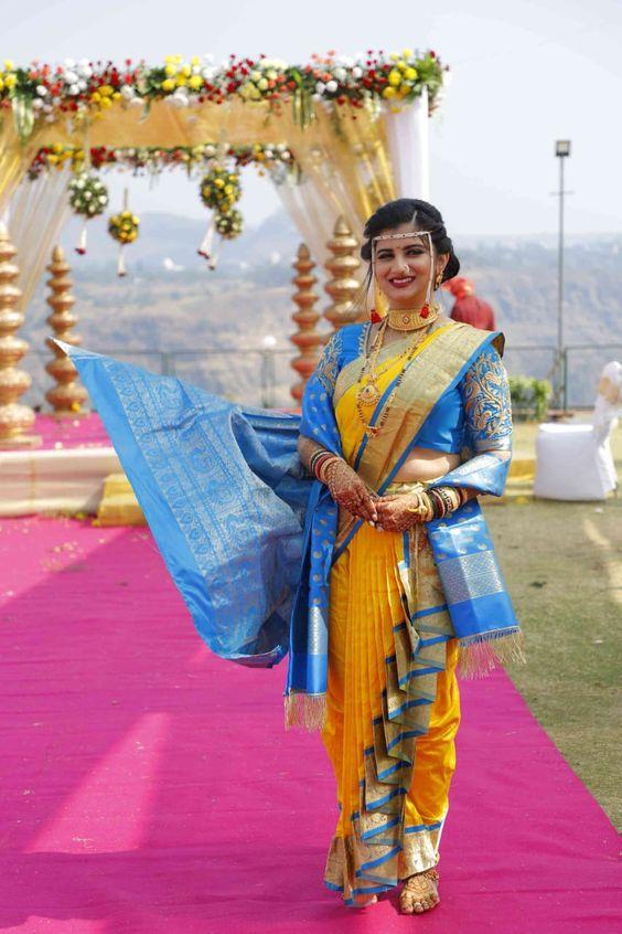 Nauvari Maharashtran Style