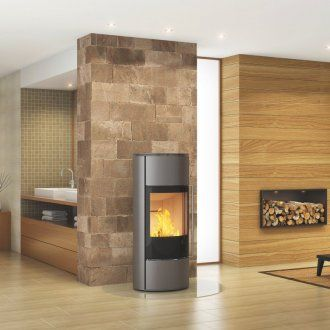 Spartherm Kaminofen SENSO M  H2O - Graphit
